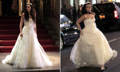 blair montagem O vestido de noiva de Blair Waldorf   Gossip Girl
