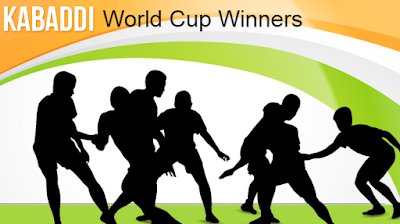 Kabaddi  world cup, winners, runner-up, champions, Men's, women's, history, year wise, all time