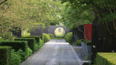 Jardín Laboratorio en País del Loira. Les Jardins du Perdrier