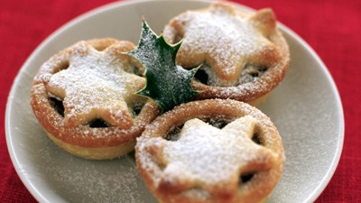 Recipe for traditional christmas mince pie the garden of for English mincemeat recipe