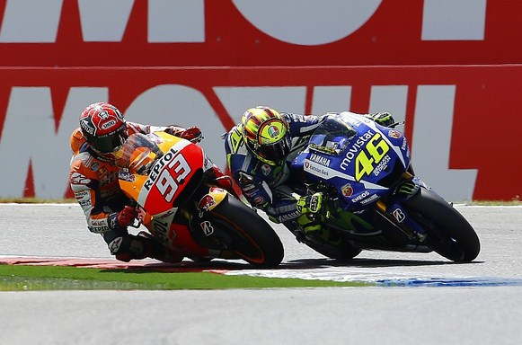 Call Rossi Distance With Marquez Still Too Big, She Determined to Maintain Good Rate