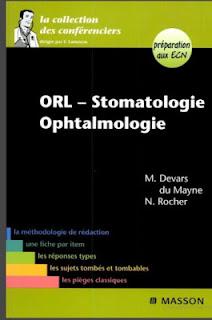 LA COLLECTION DES CONFÉRENCIERS ORL-STOMATOLOGIE OPHTALMOLOGIE