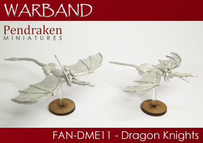FAN-DME11   2 x Dragons with Knights