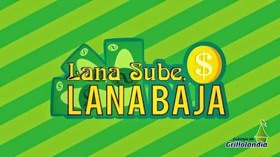logotipo lana sube y lana baja