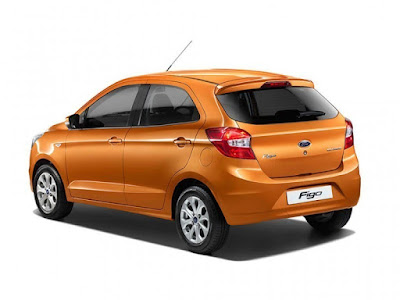 New Ford Figo 2016 side and rear look