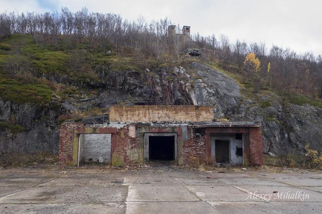Заброшенный подземный ядерный арсенал
