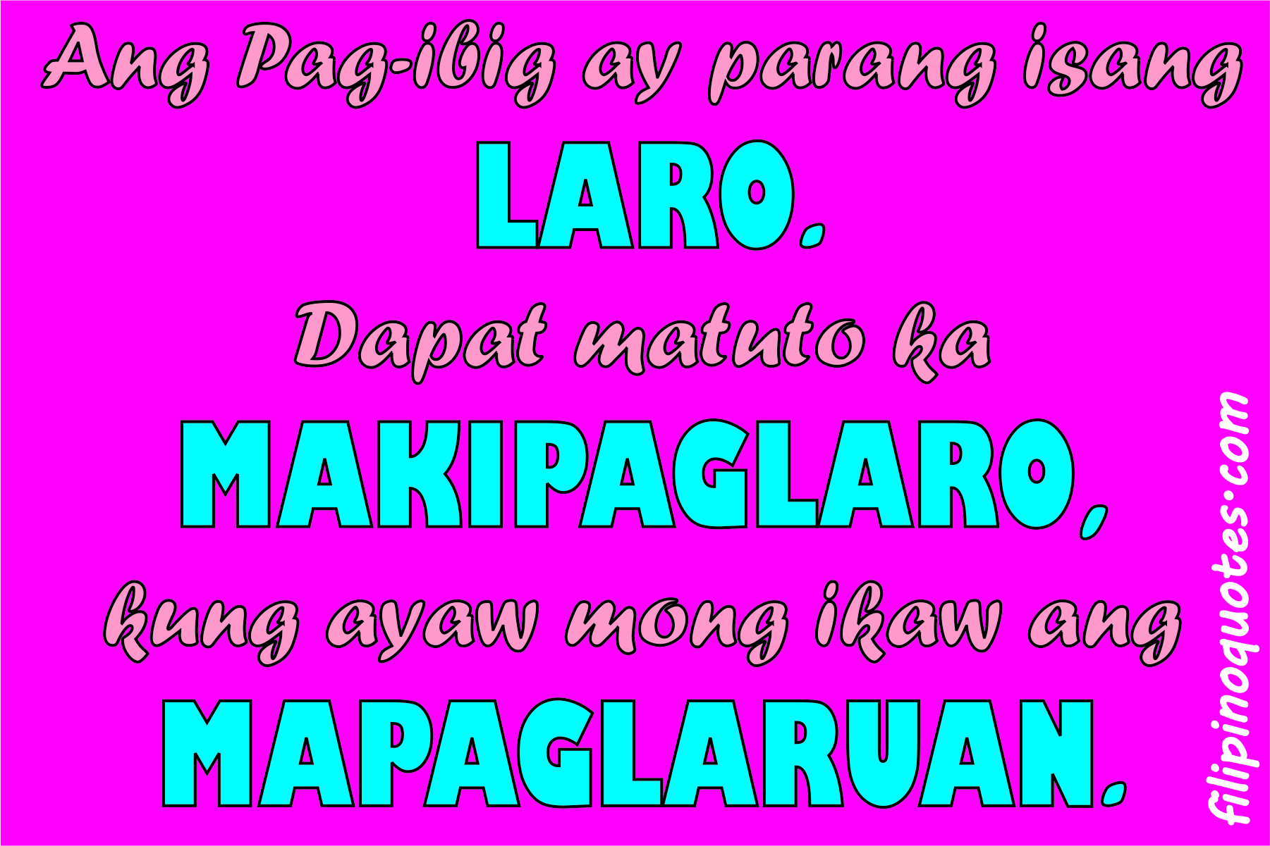 Picture Of Tagalog Love Quotes: Love Quotes Tagalog: May 2015
