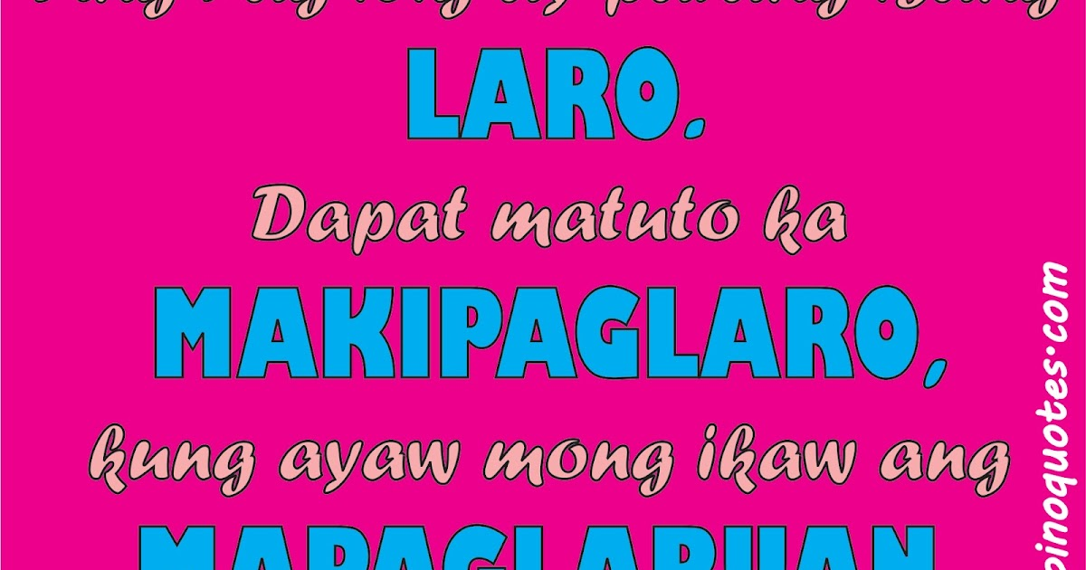 Love Quotes For Special Someone Tagalog: Tagalog Love Quotes (May 2012)