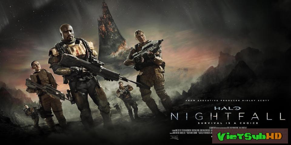 Phim Cuộc Chiến Ngoài Hành Tinh VietSub HD | Halo: Nightfall 2014