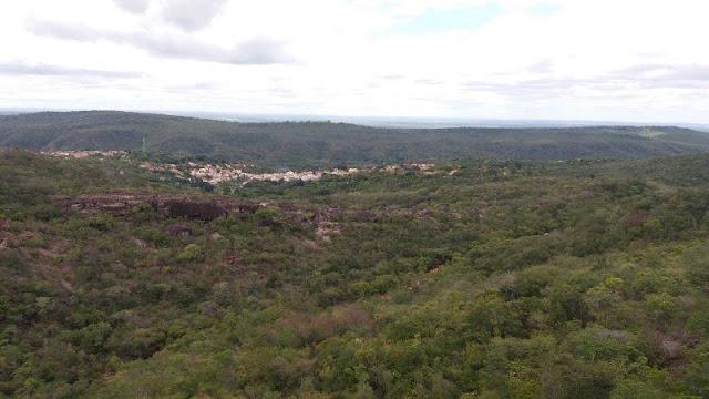 Parque Municipal do Serrano : Vista do Mirante