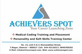 Medical Coding Jobs Opportunities For Freshers in Achievers Spot