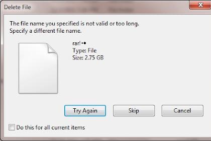 Cara Menghapus File atau Folder yang Tidak Bisa Dihapus