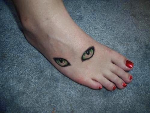 Cat Eye Tattoo Ideas