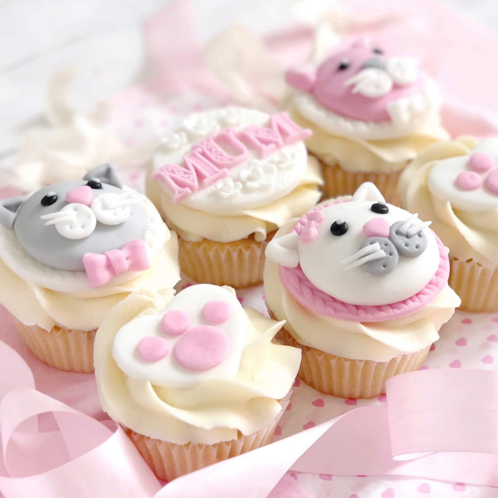 Cat Themed Cupcakes | Love, Catherine