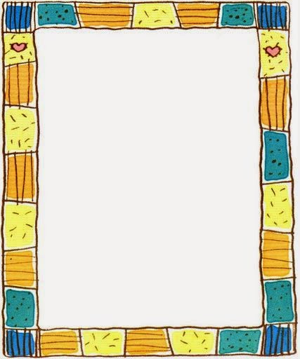 Colors: Free Printable Funny Frames, Borders and Labels. | Oh My ...