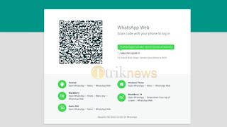 Cara membuka aplikasi whatsapp via dekstop tanpa download