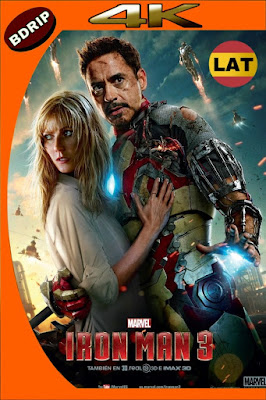 IRON MAN 3 (2013) BDRIP 4K HDR LATINO-INGLES MKV