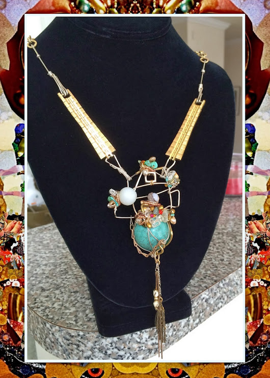 Klewism: Watch Disbanded Necklace: a bit of Sartorial 'Dr. Suess'-ishness