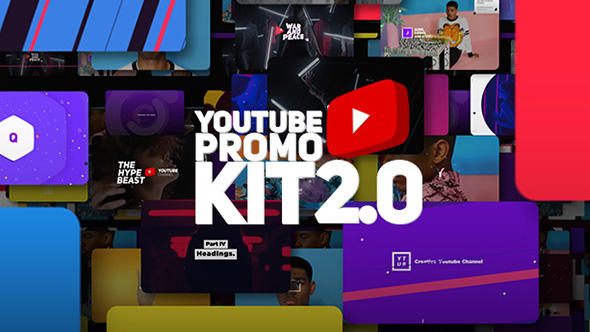 cover Youtube Promo Kit 2.0  Videohive - Free After Effects Templates download