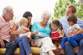 Reading builds family relationships