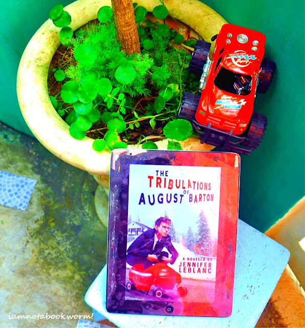 The Tribulations of August Barton  (August Barton #1) by Jennifer LeBlanc | A Book Review by iamnotabookworm!