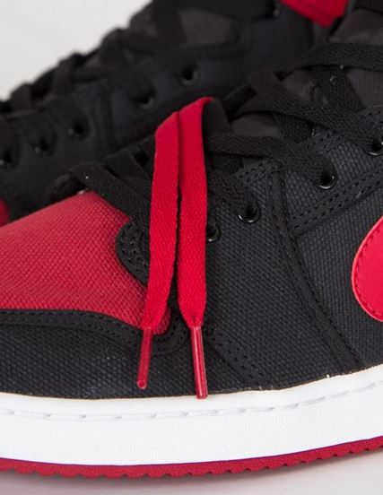 new product 207f2 2febd Here is a look at the Air Jordan 1 KO High OG Bred Sneaker Available HERE,  these are gonna look awesome on feet! Check out more images after the jump.