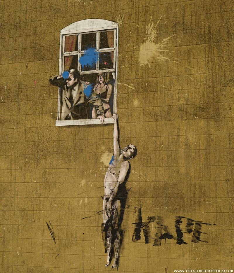 Bristol Street Art by Banksy