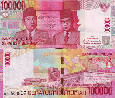 Uang Lama 100.000