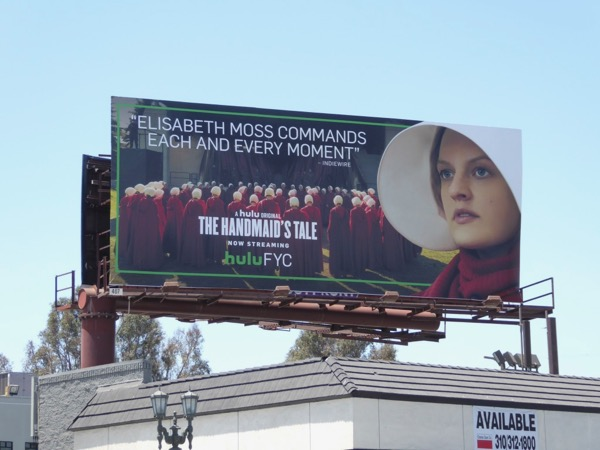 Handmaids Tale season 1 Emmy billboard