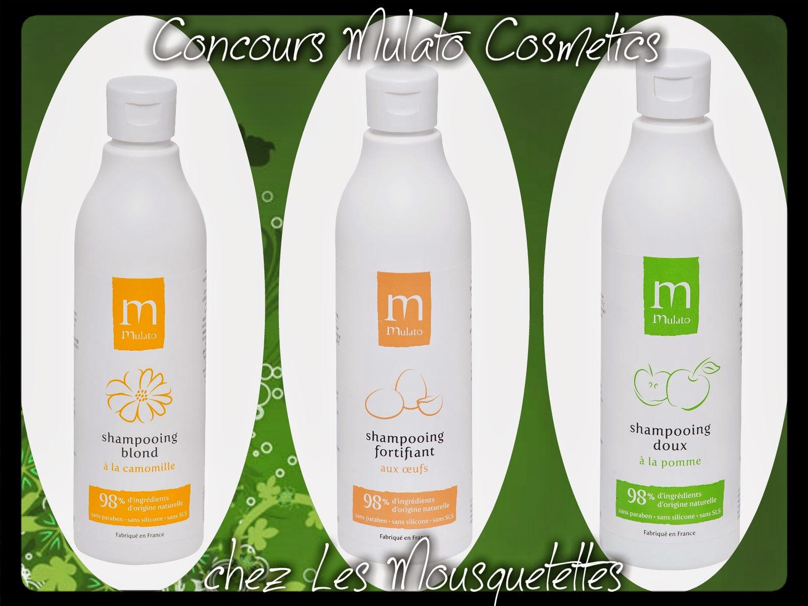 #concours Mulato Cosmetics - Les Mousquetettes©