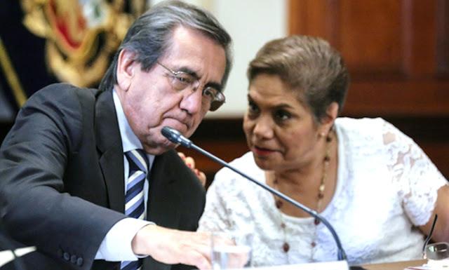 Jorge del Castillo, Luz Salgado