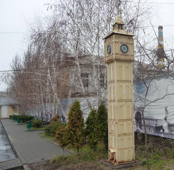 Костянтинівка. Big Ben – копія Лондонської годинникової вежі