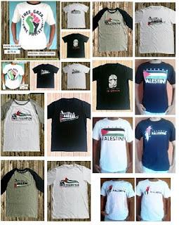 Tempat Jual Kaos Palestina