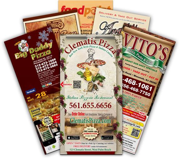 get finest quality laminated restaurant menu printing in uk