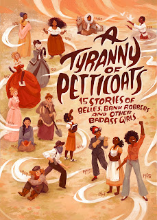A Tyranny of Petticoats poster designed by Simini Blocker