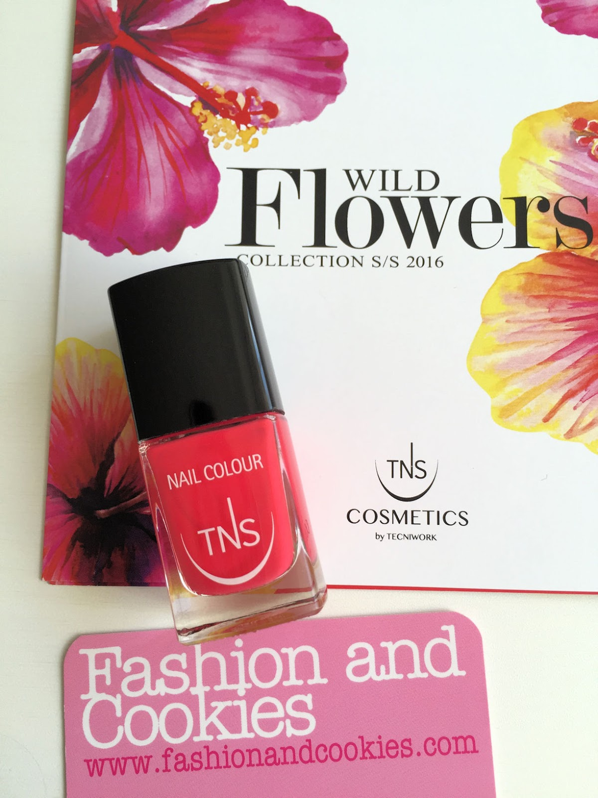TNS Cosmetics Wild Flower nail polish review on Fashion and Cookies beauty blog, beauty blogger