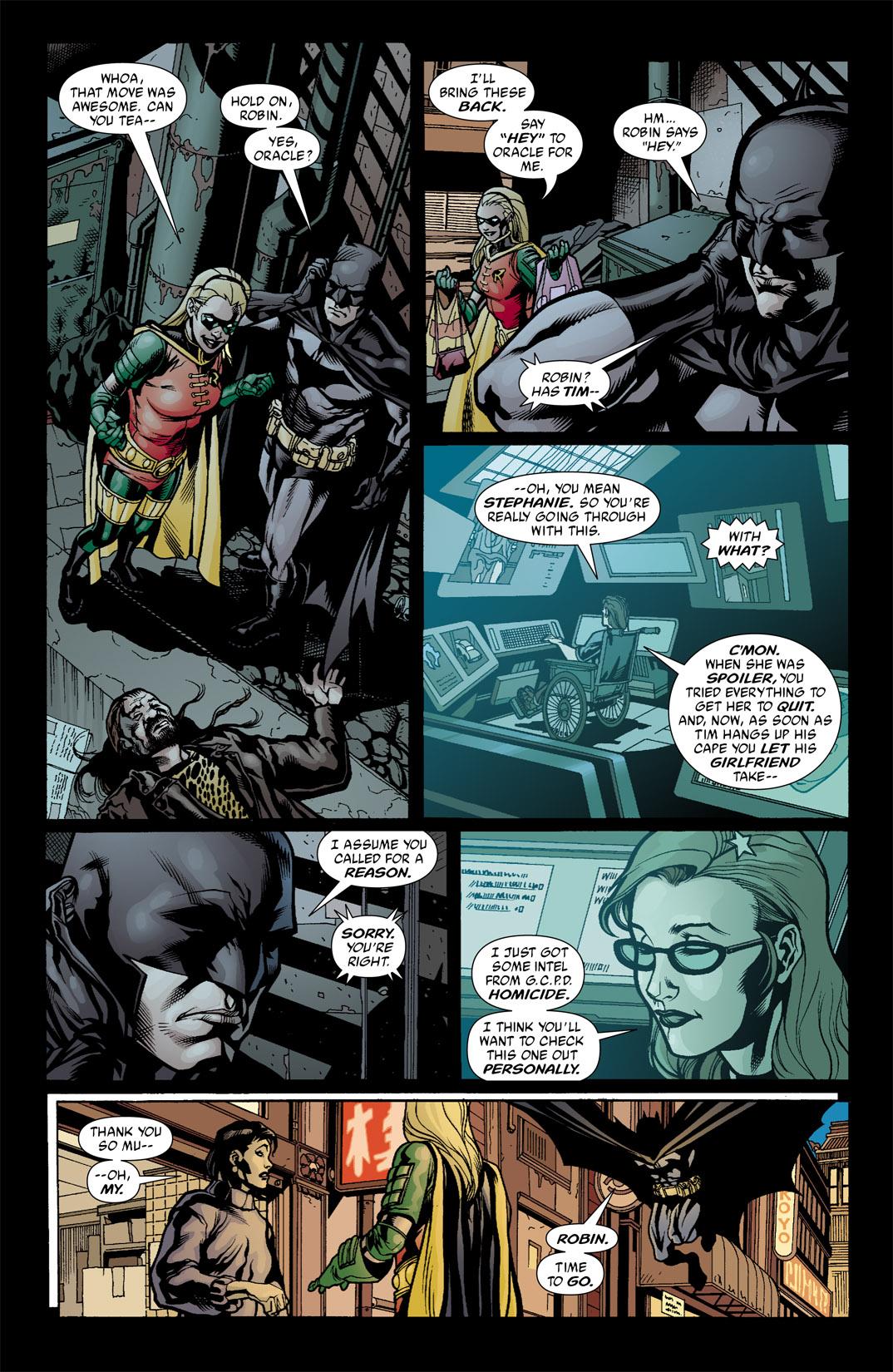 Detective Comics (1937) 796 Page 4