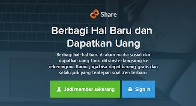 Share Artikel Dapat Dollar