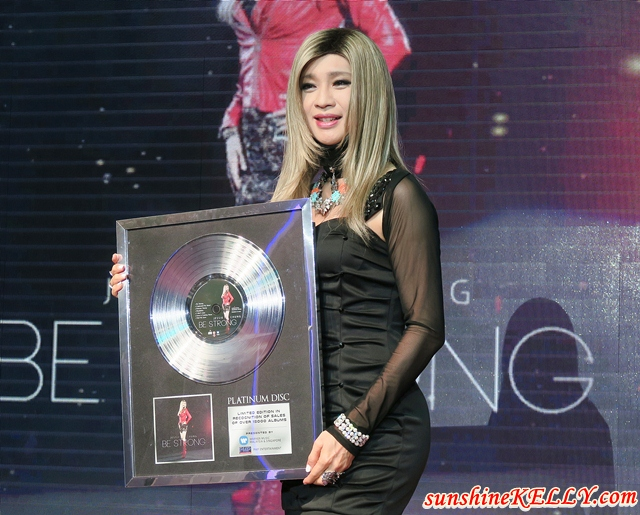 Jessie Chung's Latest Album, Be Strong Scores Two No. 1 Chart Positions and Crosses Platinum Mark in Taiwan