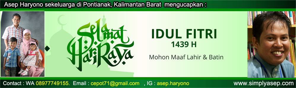 Banner Idul Fitrie