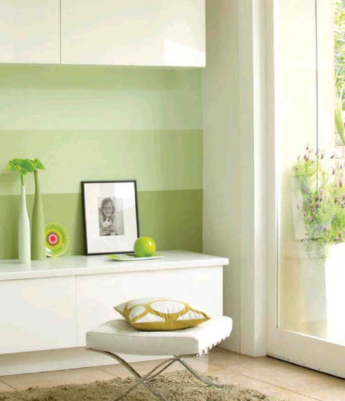 Hogar 10 pintar paredes de rayas hazlo tu mismo - Habitaciones pintadas con rayas ...