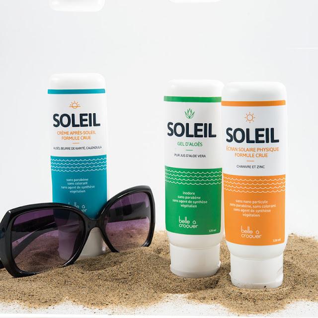 Belle à croquer gamme soleil crèmes protection solaire