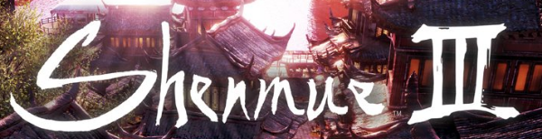 New Shenmue III logo from the press release