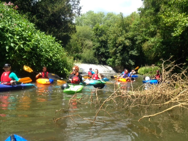 Kayaking the River Ouse with Martlet Kayak Club Brighton