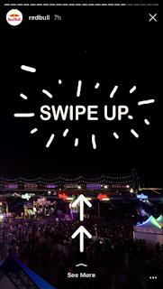 alfisbu swipe up story Instagram
