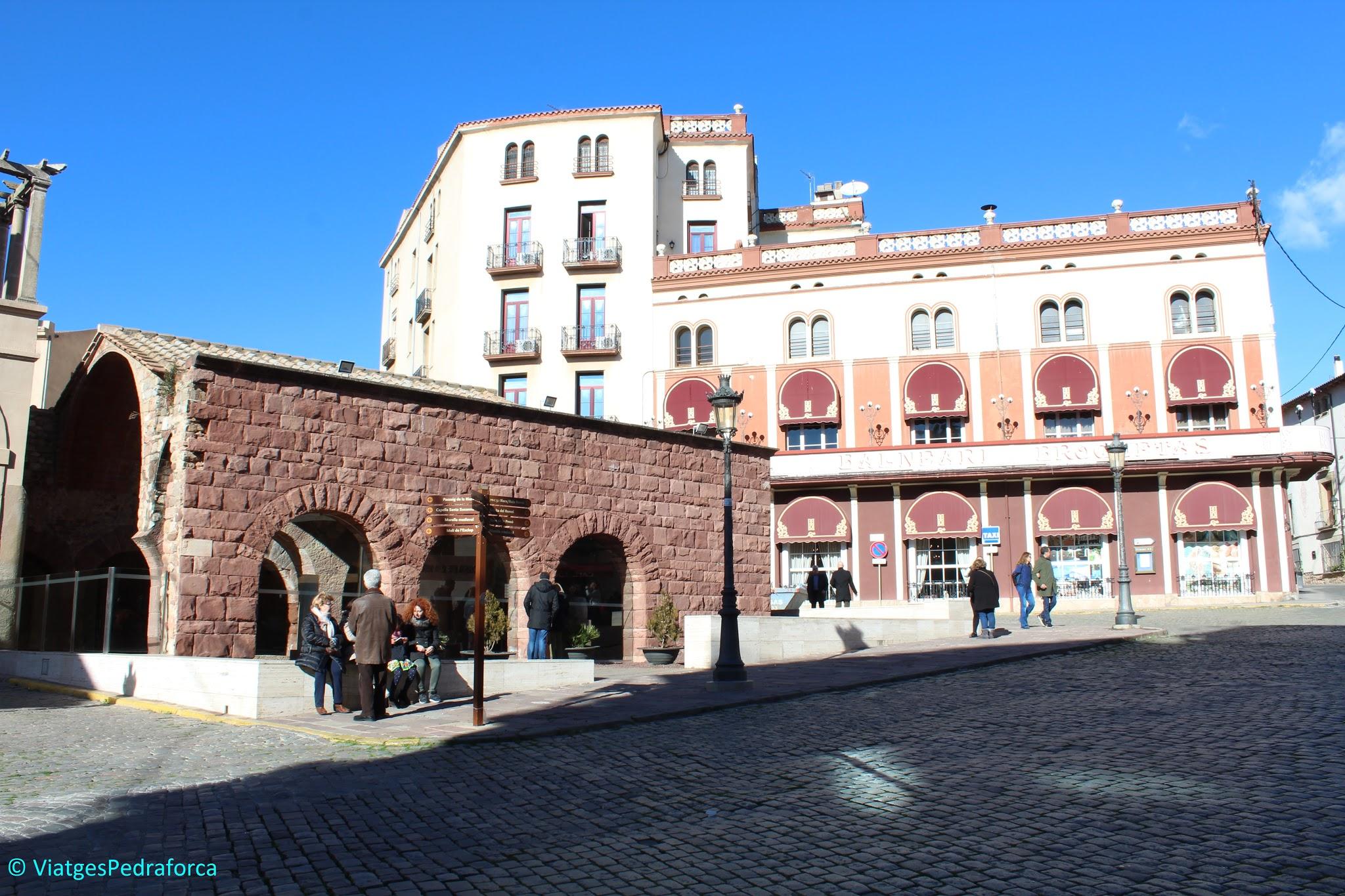 termes romanes, Vallès Oriental, Catalunya, ruta arqueològica, patrimoni cultural català