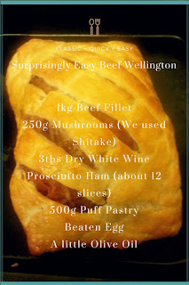 A surprisingly easy and delicious Beef Wellington recipe.