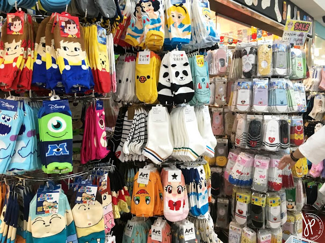 store selling socks