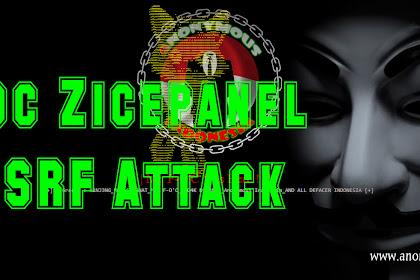 Cara Deface Dengan Poc Zicepanel CSRF Attack