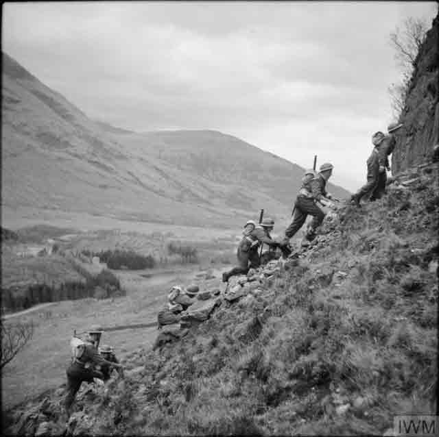 Commandos training in Scotland on 19 November 1941 worldwartwo.filminspector.com